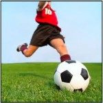 サッカーのパフォーマンスやキック力アップに必要な体幹トレーニングの方法:片足立ちトレーニング