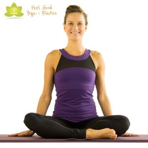 mermaid-pilates-mat-exercise-start-position