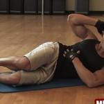腹斜筋を鍛える体幹自重トレーニング